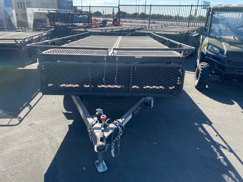 2021 Jumping Jack 6' X 12' BLACKOUT TRAILER W/ 12' TENT in Elk Grove, California - Photo 2