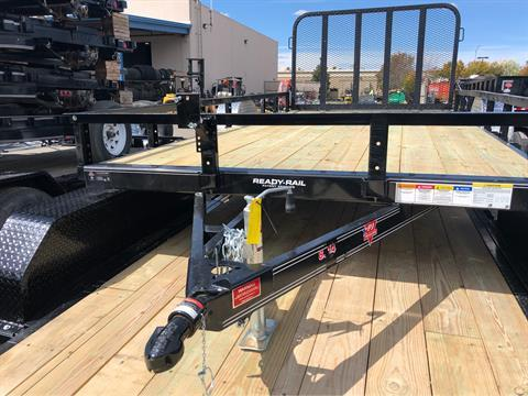 "2019 PJ Trailers 14' X 83"" SINGLE AXLE CHANNEL UTILITY in Elk Grove, California - Photo 2"
