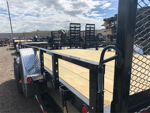 "2019 PJ Trailers 14' X 83"" SINGLE AXLE CHANNEL UTILITY in Elk Grove, California - Photo 5"