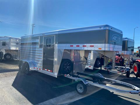 2022 4-STAR TRAILERS 3H GN RUNABOUT STOCK COMBO in Elk Grove, California - Photo 1