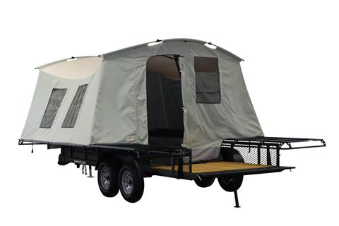 2021 Jumping Jack 6' X 17' BLACKOUT TRAILER W/ 12' TENT in Elk Grove, California - Photo 1
