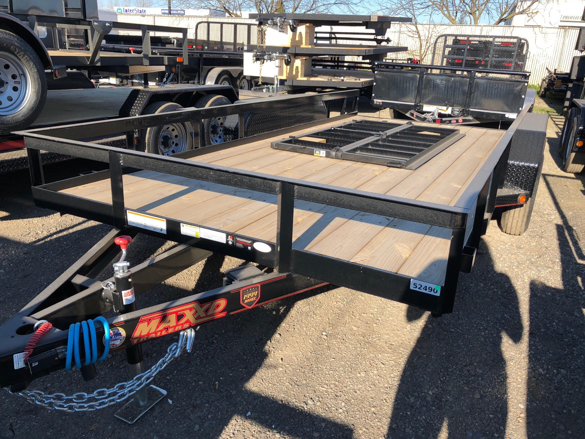 "2018 MAXXD TRAILERS 14' X 83"" ANGLE TA  in Elk Grove, California"