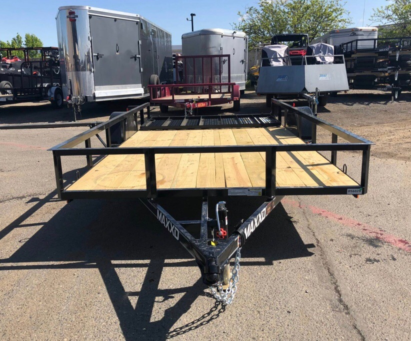 "2019 MAXXD TRAILERS 14' X 83"" SA UTILITY in Elk Grove, California"
