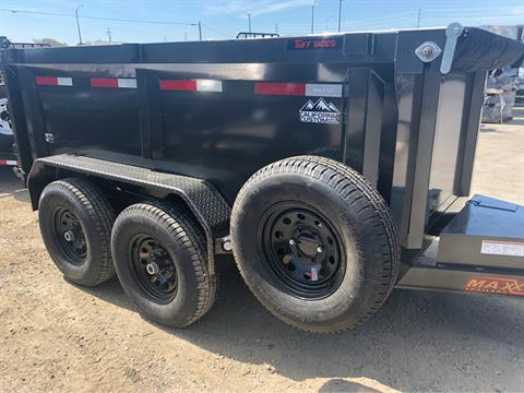 "2019 MAXXD TRAILERS 10' x 72"" DUMP TRAILER in Elk Grove, California - Photo 4"
