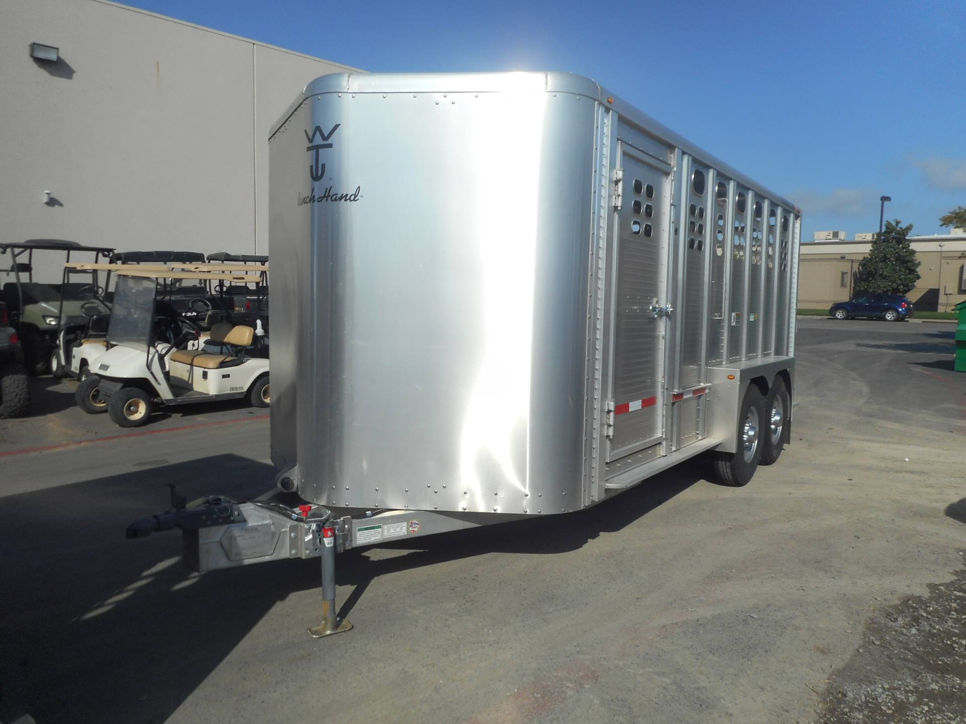 2017 Wilson Trailer - Manufacturers 16' BP STOCK TRAILER in Elk Grove, California