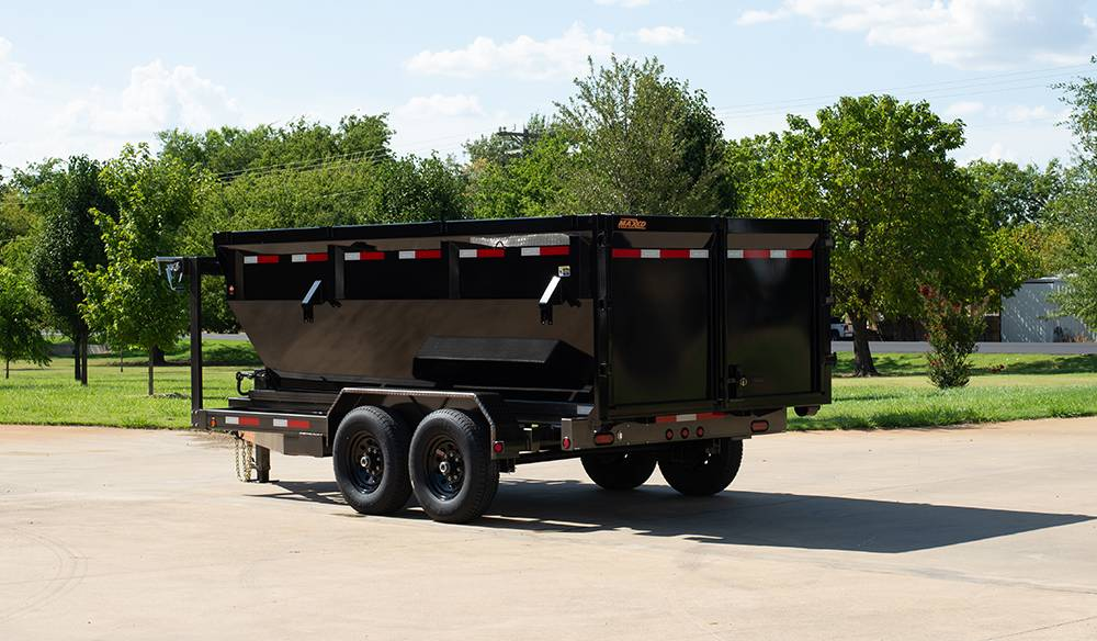 "2021 MAXXD TRAILERS 14' x 83"" GN ROLL-OFF DUMP TRAILER (Bins Available) in Elk Grove, California - Photo 1"