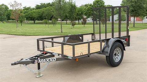 "2018 MAXXD TRAILERS 10' X 61"" SA UTILITY TRAILER in Elk Grove, California"