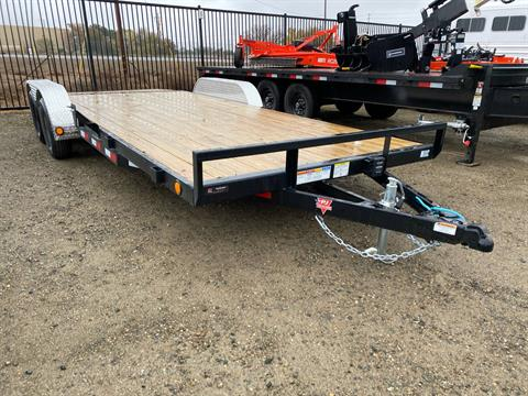 2021 PJ Trailers 4 in. Channel Carhauler (C4) 18 ft. in Elk Grove, California - Photo 1