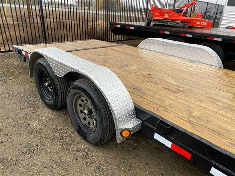 2021 PJ Trailers 4 in. Channel Carhauler (C4) 18 ft. in Elk Grove, California - Photo 5