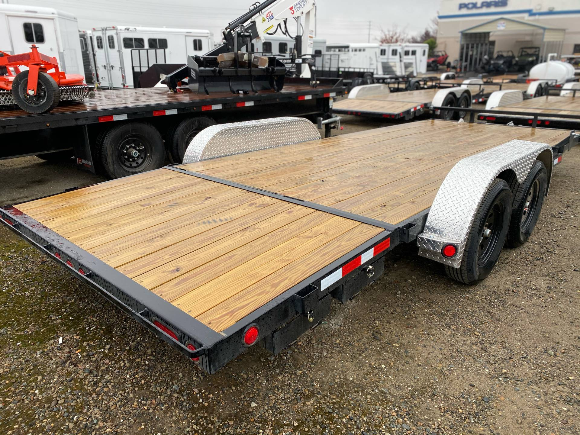 2021 PJ Trailers 4 in. Channel Carhauler (C4) 18 ft. in Elk Grove, California - Photo 8