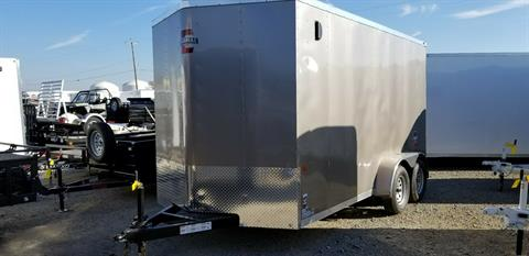 2018 Charmac Trailers 7' X 14' STEALTH CARGO TRAILER in Elk Grove, California