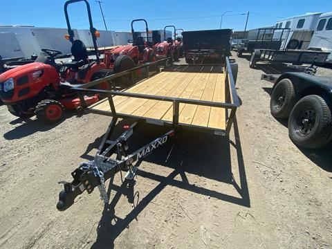 "2020 MAXXD TRAILERS 14' X 77"" SA UTILITY TRAILER in Elk Grove, California - Photo 2"