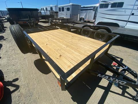 "2020 MAXXD TRAILERS 14' X 77"" SA UTILITY TRAILER in Elk Grove, California - Photo 4"