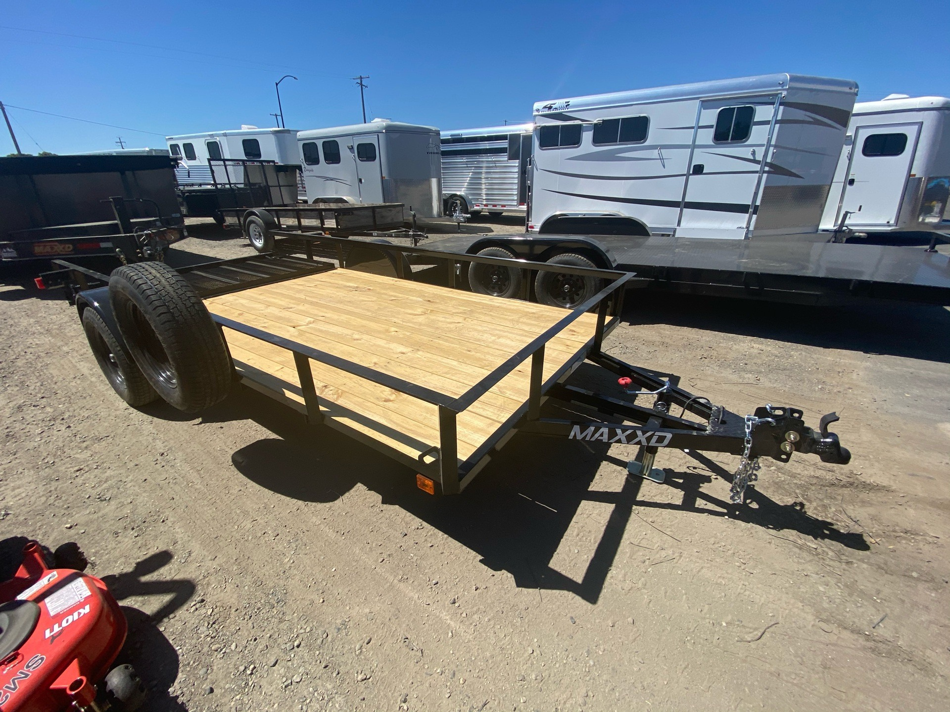 "2020 MAXXD TRAILERS 14' X 77"" SA UTILITY TRAILER in Elk Grove, California - Photo 5"