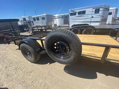 "2020 MAXXD TRAILERS 14' X 77"" SA UTILITY TRAILER in Elk Grove, California - Photo 6"