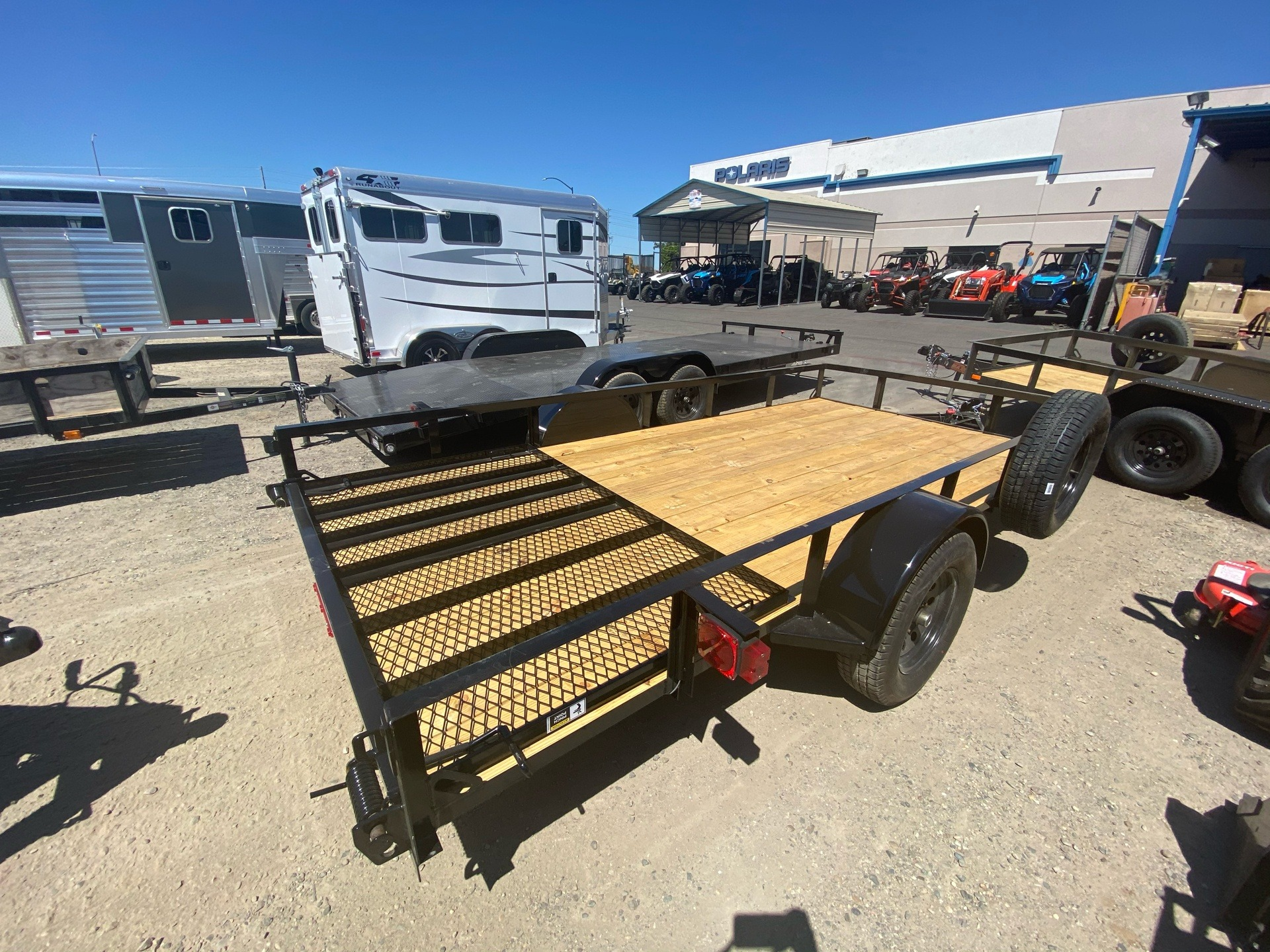 "2020 MAXXD TRAILERS 14' X 77"" SA UTILITY TRAILER in Elk Grove, California - Photo 9"