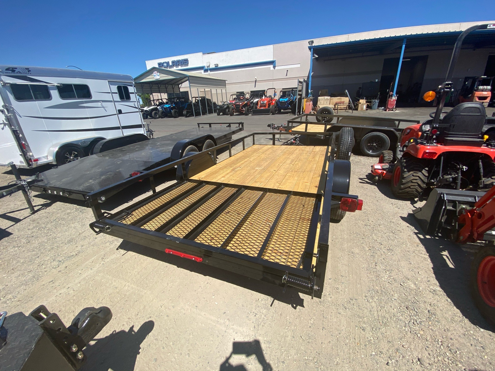 "2020 MAXXD TRAILERS 14' X 77"" SA UTILITY TRAILER in Elk Grove, California - Photo 10"