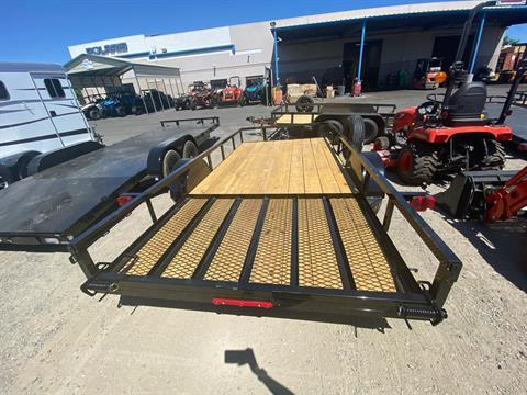 "2020 MAXXD TRAILERS 14' X 77"" SA UTILITY TRAILER in Elk Grove, California - Photo 11"