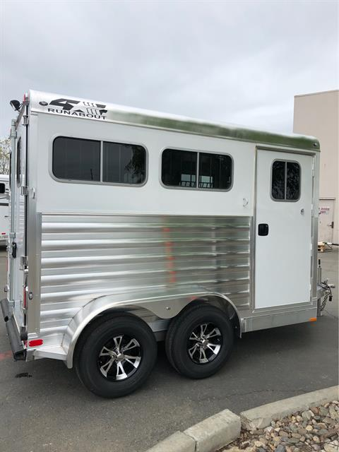 2019 4-STAR TRAILERS 11' 2 HORSE BP TRAILER in Elk Grove, California