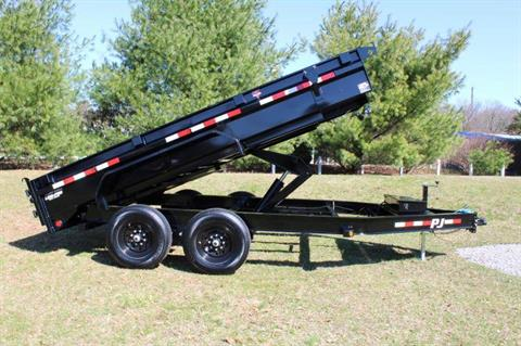 2021 PJ Trailers DG 83X14 LOW PRO DUMP in Elk Grove, California - Photo 11