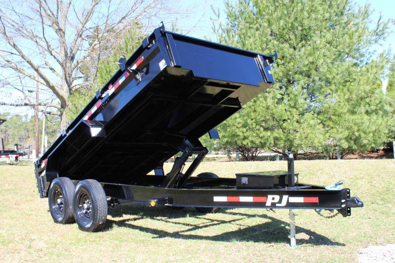 2021 PJ Trailers DG 83X14 LOW PRO DUMP in Elk Grove, California - Photo 12