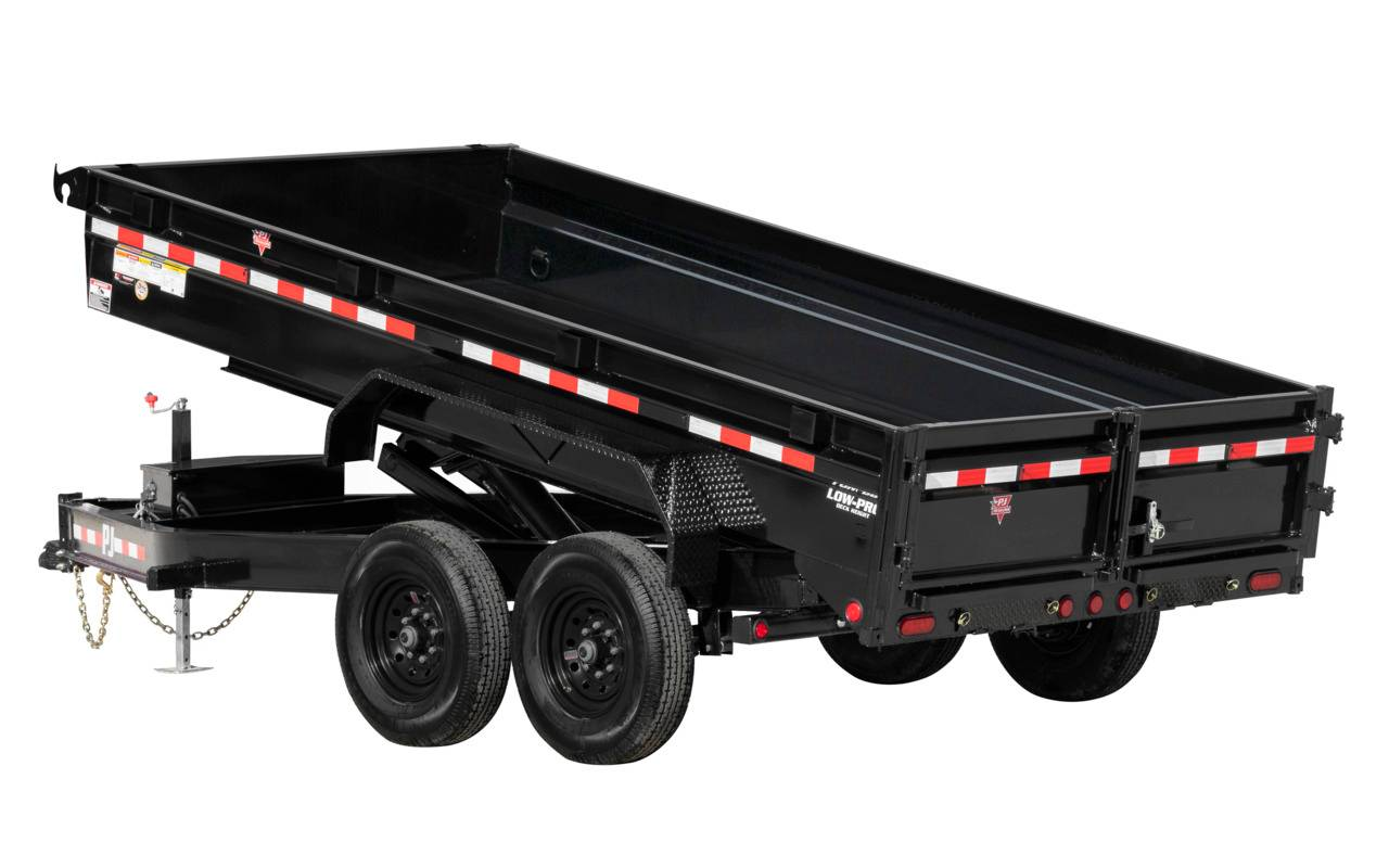 2021 PJ Trailers DG 83X14 LOW PRO DUMP in Elk Grove, California - Photo 16