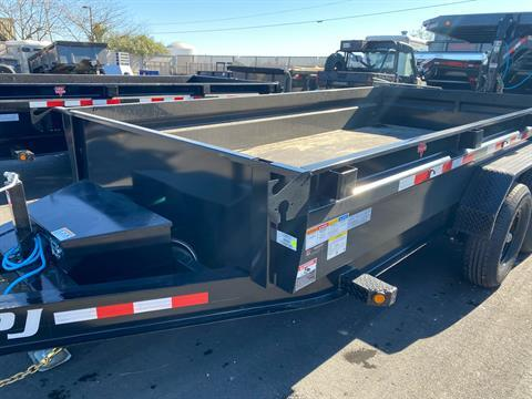 2021 PJ Trailers DG 83X14 LOW PRO DUMP in Elk Grove, California - Photo 3