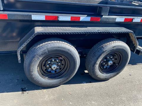 2021 PJ Trailers DG 83X14 LOW PRO DUMP in Elk Grove, California - Photo 4
