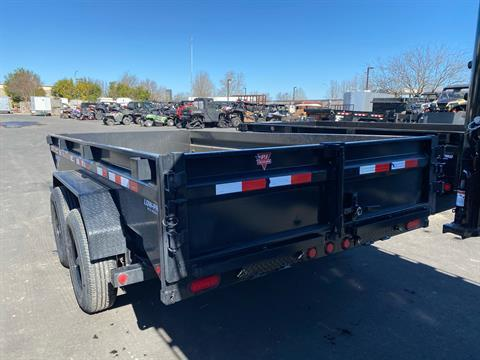 2021 PJ Trailers DG 83X14 LOW PRO DUMP in Elk Grove, California - Photo 5