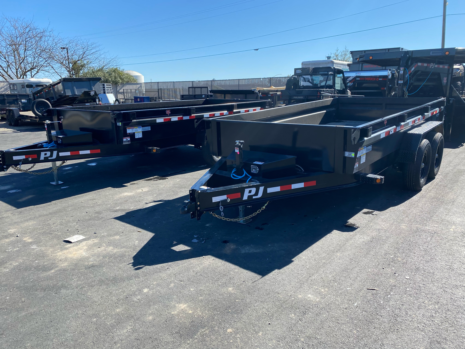 2021 PJ Trailers DG 83X14 LOW PRO DUMP in Elk Grove, California - Photo 6