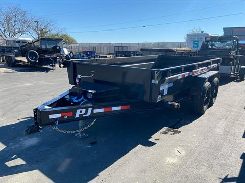 2021 PJ Trailers DG 83X14 LOW PRO DUMP in Elk Grove, California - Photo 7