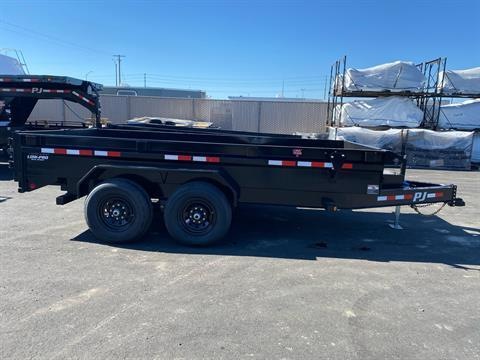 2021 PJ Trailers DG 83X14 LOW PRO DUMP in Elk Grove, California - Photo 9