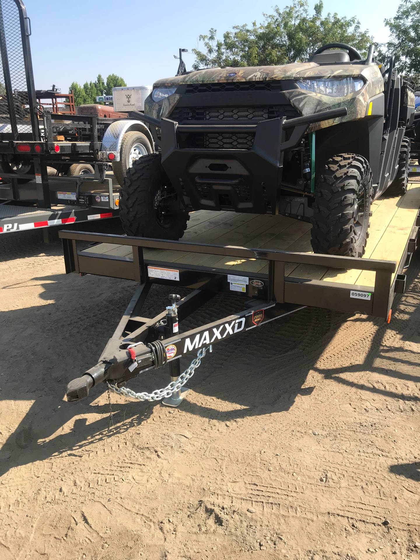 "2019 MAXXD TRAILERS 18' X 83"" CHANNEL CAR HAULER in Elk Grove, California"