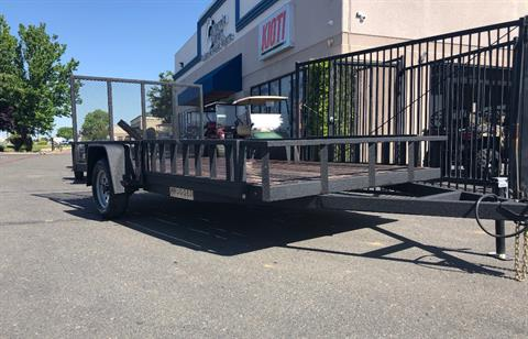 2019 Charmac Trailers 12' X 6' UTILITY TRAILER  in Elk Grove, California - Photo 2