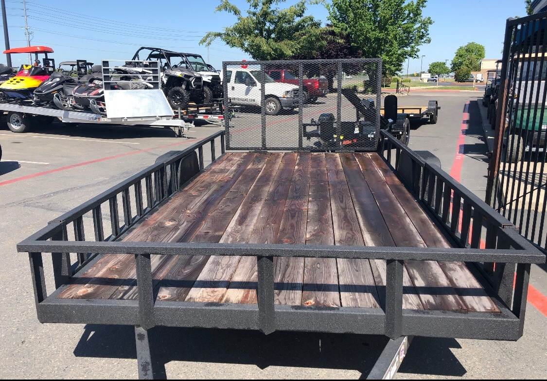 2019 Charmac Trailers 12' X 6' UTILITY TRAILER  in Elk Grove, California - Photo 4