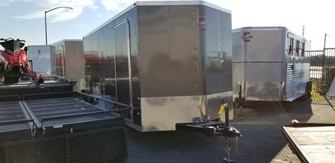 2018 Charmac Trailers 7'X16' STEALTH CARGO TRAILER in Elk Grove, California