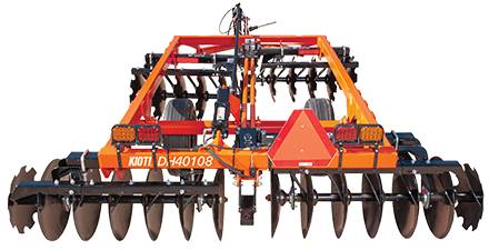 "2018 KIOTI STANDARD -DUTY 64"" DISC HARROW W/ 18"" COMBO BLADES in Elk Grove, California"