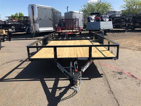 "2018 MAXXD TRAILERS 14' X 83"" SA UTILITY TRAILER in Elk Grove, California"