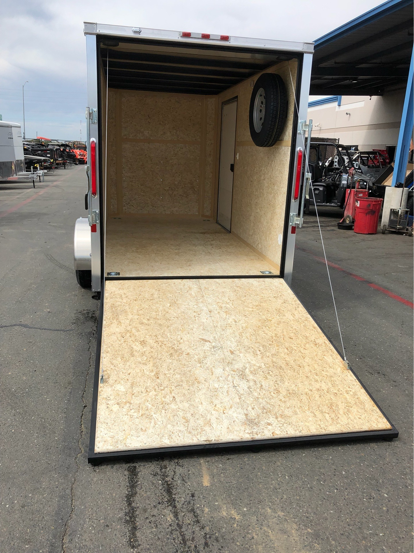 2020 Charmac Trailers 12' X 6' STEALTH CARGO TRAILER in Elk Grove, California - Photo 4
