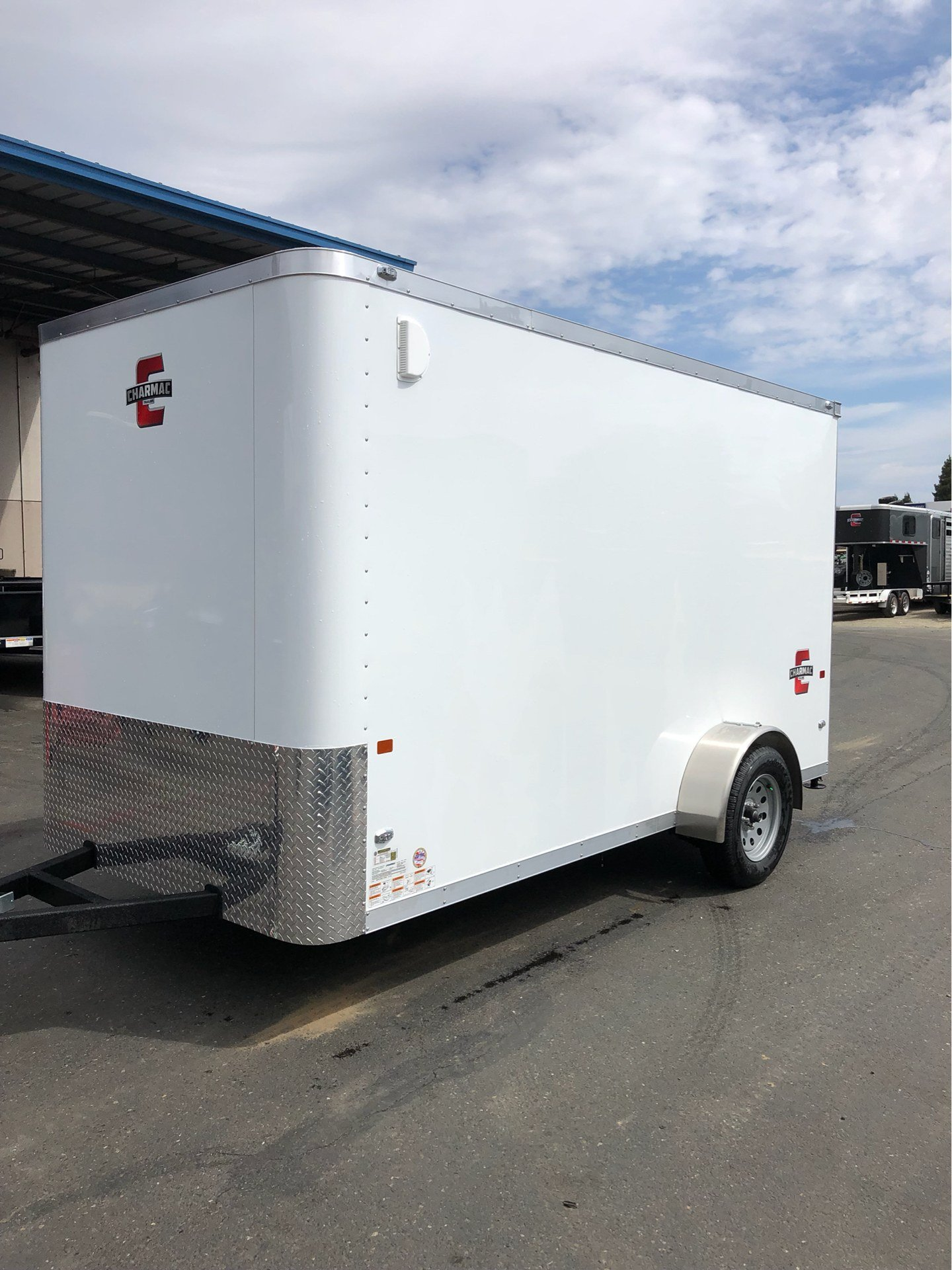 2020 Charmac Trailers 12' X 6' STEALTH CARGO TRAILER in Elk Grove, California - Photo 1