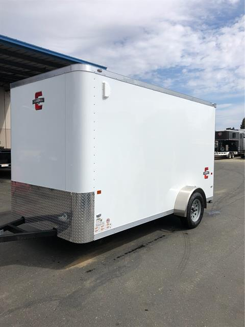 2020 Charmac Trailers 12' X 6' STEALTH CARGO TRAILER in Elk Grove, California