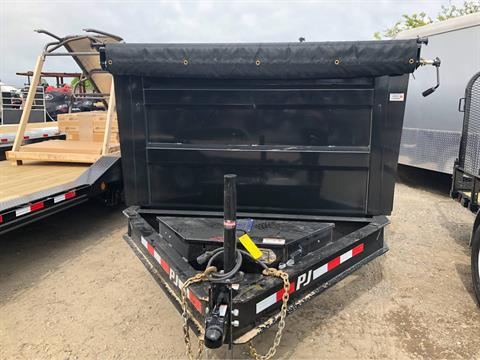 "2019 PJ Trailers 14' X 83"" LO-PRO HIGH SIDE DUMP in Elk Grove, California"