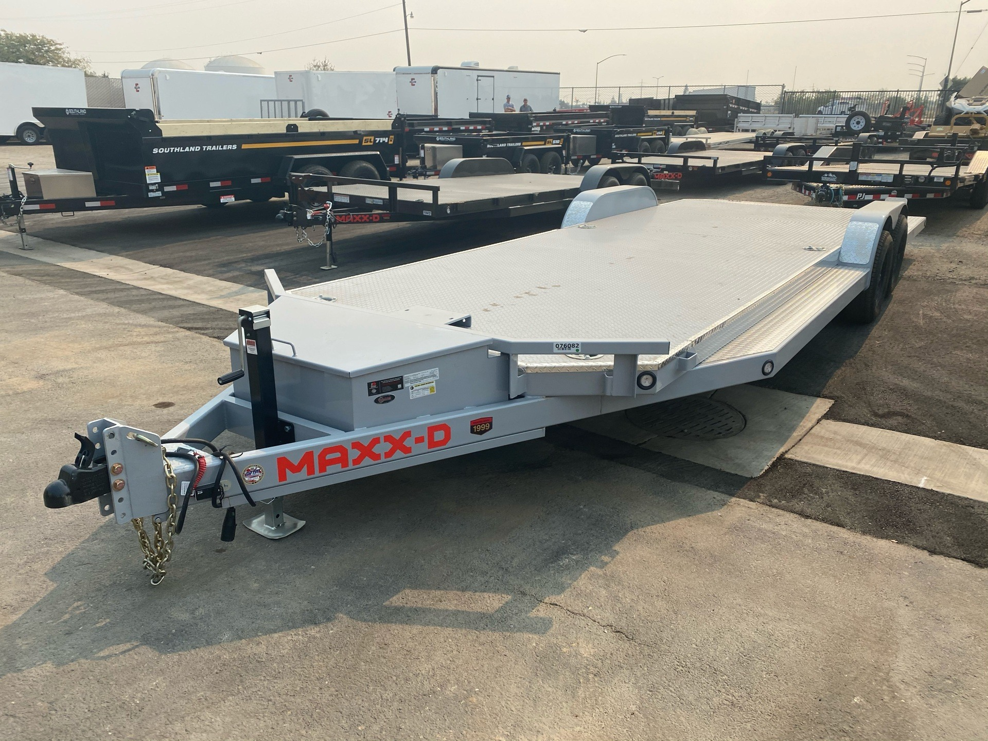 "2021 MAXXD TRAILERS 24' X 83"" 10K TUBING CARHAULER in Elk Grove, California - Photo 1"