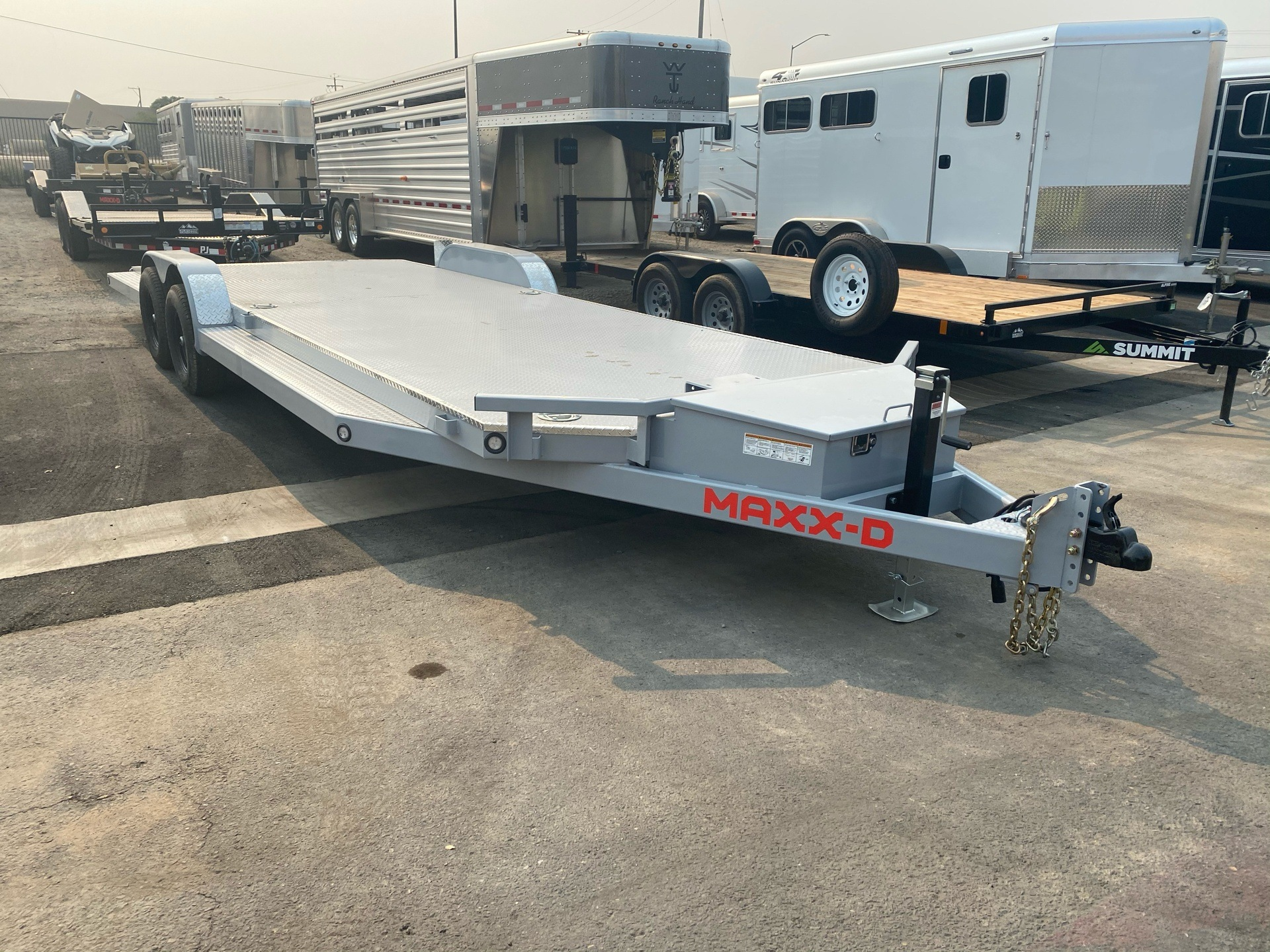 "2021 MAXXD TRAILERS 24' X 83"" 10K TUBING CARHAULER in Elk Grove, California - Photo 5"