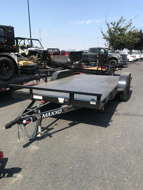 "2018 MAXXD TRAILERS 16' X 83"" CHANNEL CARHAULER in Elk Grove, California"