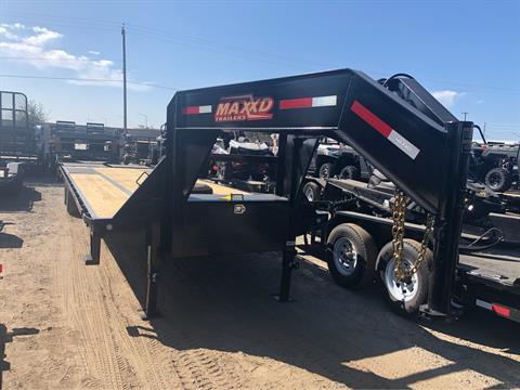 "2020 MAXXD TRAILERS 32' X 102"" ;OW=PRO TA DUAL FLATBED in Elk Grove, California"