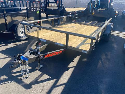 2021 MAXXD TRAILERS 77X12 S3X UTL in Elk Grove, California - Photo 1