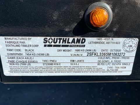 2021 SOUTHLAND TRAILER CORP SL714-16K DUMP in Elk Grove, California - Photo 12