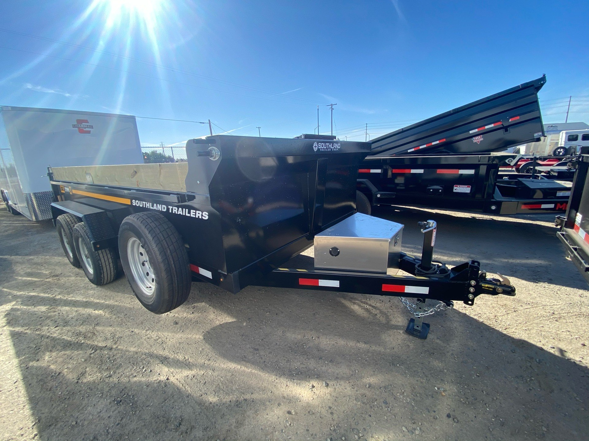 2021 SOUTHLAND TRAILER CORP SL714-16K DUMP in Elk Grove, California - Photo 1