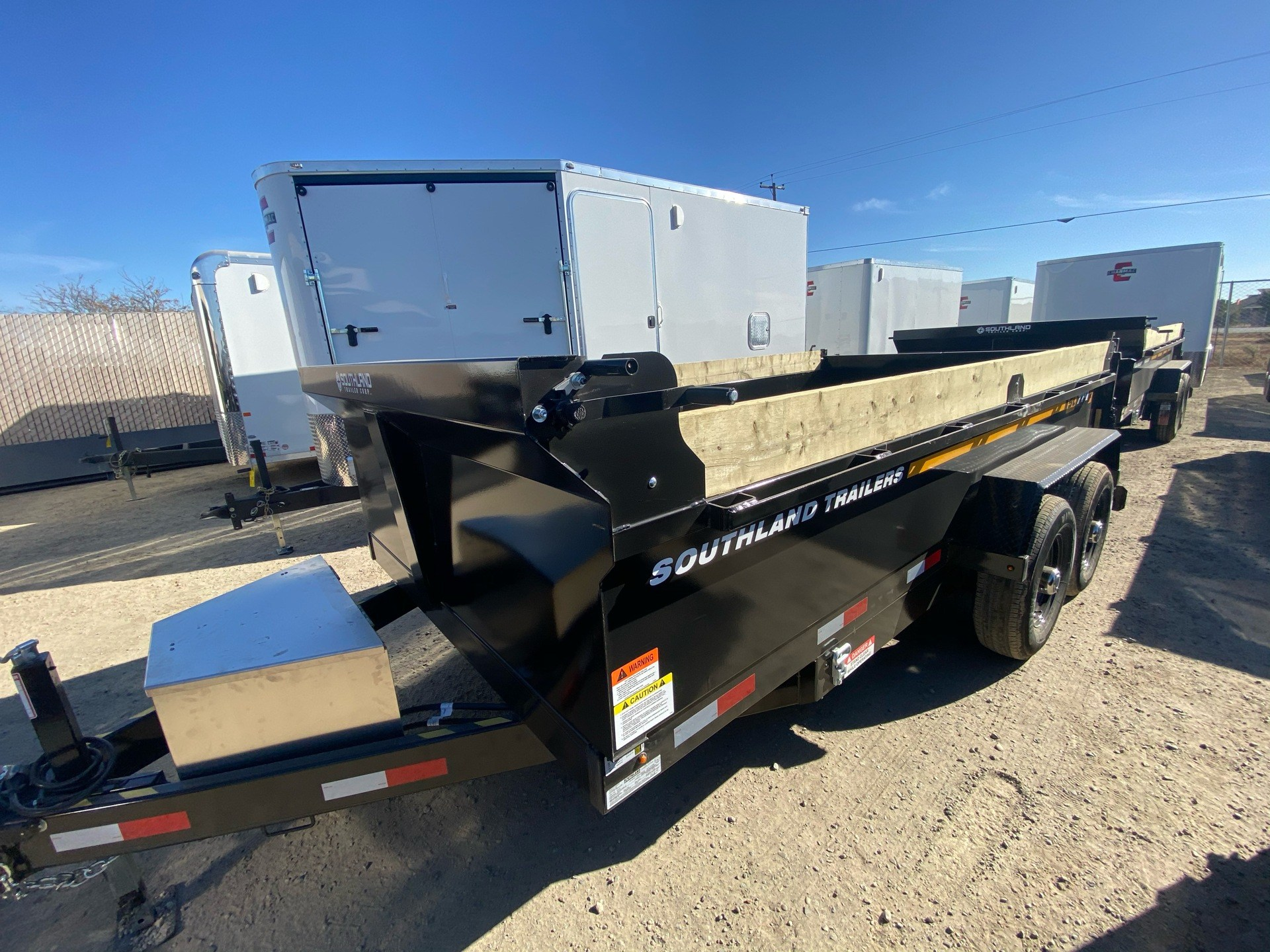 2021 SOUTHLAND TRAILER CORP SL714-16K DUMP in Elk Grove, California - Photo 11
